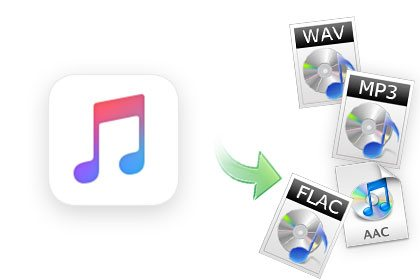 Convert Apple Music to MP3, AAC, FLAC or WAV
