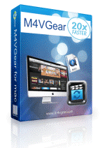 M4VGear DRM Remover, DRM removal for mac