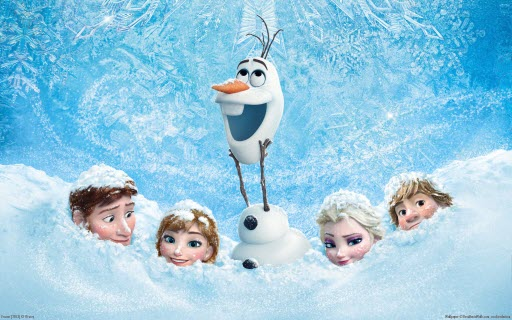 poster of movie frozen