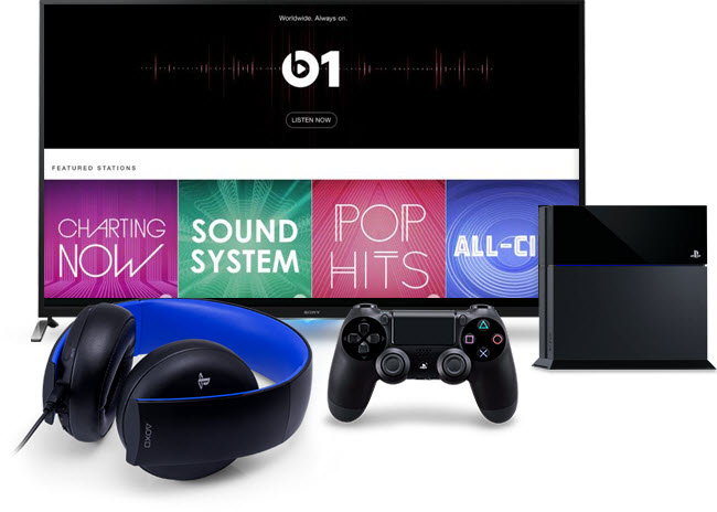Stream iTunes Music, Videos and Apple Music on PS4 Neo