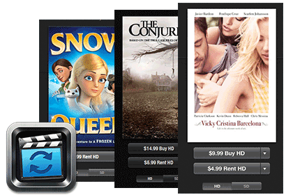 Convert purchased and rented