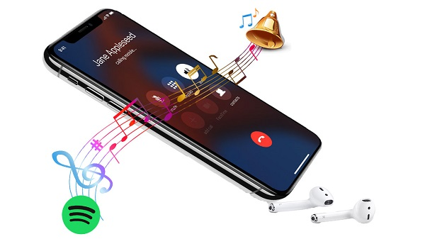 set Spotify music as iPhone ringtone