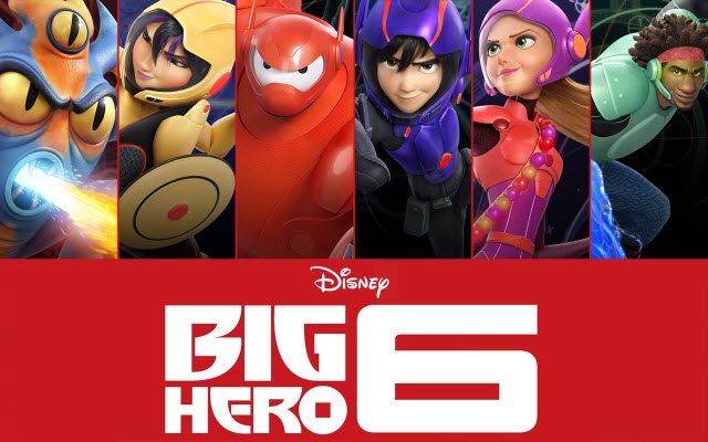 iTunes Extras - Big Hero 6