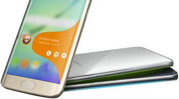 curved-edge display